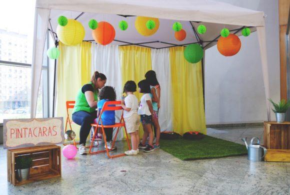 Pintacaras en Lakua Centro